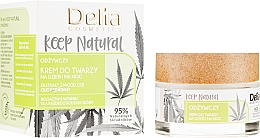 Düfte, Parfümerie und Kosmetik Nährende Gesichtscreme für Tag und Nacht - Delia Cosmetics Keep Natural Nourishing Cream