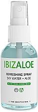 Düfte, Parfümerie und Kosmetik Erfrischendes und feuchtigkeitsspendendes Wasser für Körper und Gesicht mit Aloe Vera - Ibizaloe Sky Water Aloe Vera