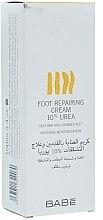 Düfte, Parfümerie und Kosmetik Regenerierende Fußcreme mit 10% Urea - Babe Laboratorios Foot Repairing Cream 10 % Urea