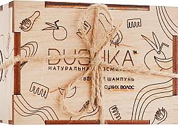 Düfte, Parfümerie und Kosmetik Festes Shampoo für trockenes Haar - Dushka