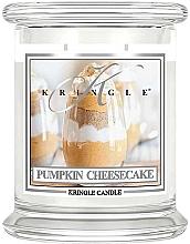 Düfte, Parfümerie und Kosmetik Duftkerze im Glas Pumpkin Cheesecake - Kringle Candle Pumpkin Cheesecake