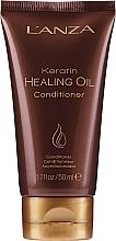 Düfte, Parfümerie und Kosmetik Haarspülung mit Keratin - Lanza Keratin Healing Oil Conditioner
