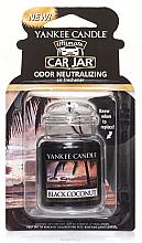 Düfte, Parfümerie und Kosmetik Auto-Lufterfrischer Black Coconut - Yankee Candle Black Coconut Car Jar Ultimate