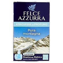 Düfte, Parfümerie und Kosmetik Elektrischer Diffusor Pure Montain - Felce Azzurra Pure Montain (Refill)