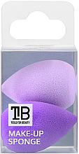 Düfte, Parfümerie und Kosmetik Mini Make-up Schwämmchen lila 2 St. - Tools For Beauty Mini Concealer Makeup Sponge Purple
