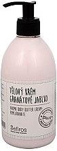 Düfte, Parfümerie und Kosmetik Körpercreme mit Granatapfel-Duft - Sefiros Aroma Body Butter Cream Pomegranate