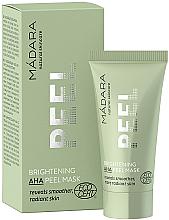 Düfte, Parfümerie und Kosmetik Aufhellende Peelingmaske für das Gesicht mit AHA-Säuren - Madara Cosmetics Brightening AHA Peel Mask