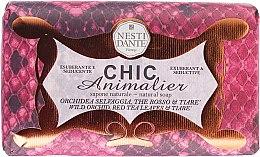 Düfte, Parfümerie und Kosmetik Pflegende Naturseife mit wilder Orchidee und rotem Tee - Nesti Dante Chic Animalier Soap