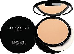 Düfte, Parfümerie und Kosmetik Langanhaltende kompakte Foundation - Mesauda Milano Skin Veil Foundation