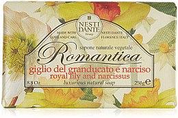 Düfte, Parfümerie und Kosmetik Seife mit Narzise- und Lilienduft - Nesti Dante Romantica Tuscan Lily&Narcissus Soap