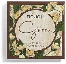 Düfte, Parfümerie und Kosmetik Lidschattenpalette - Rougj+ Green Natural Eyeshadow Palette