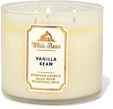 Düfte, Parfümerie und Kosmetik Bath and Body Works Vanilla Bean White Barn - Duftkerze mit ätherischen Ölen Vanilla Bean