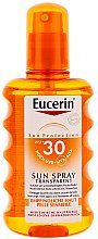 Düfte, Parfümerie und Kosmetik Sonnenschutzspray für den Körper SPF 30 - Eucerin Sun Spray Transparent SPF 30