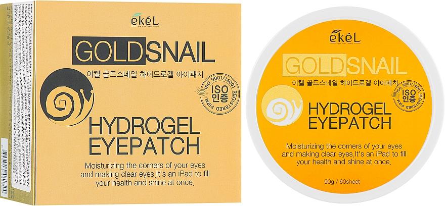 Hydrogel-Augenpatches mit Goldpartikeln und Schneckenschleim-Extrakt - Ekel Ample Hydrogel Eyepatch