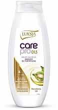 Düfte, Parfümerie und Kosmetik Creme-Duschgel mit Macadamiaöl - Luksja Care Pro Oils Creamy Shower Gel