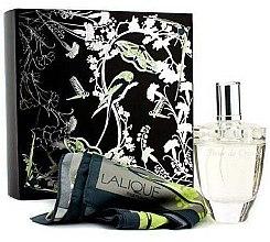 Düfte, Parfümerie und Kosmetik Lalique Fleur De Cristal - Duftset (Eau de Parfum 100ml + Schal)