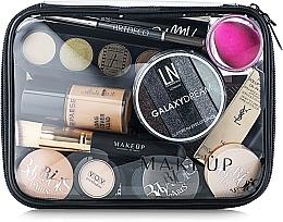 Düfte, Parfümerie und Kosmetik Kosmetiktasche Visible Bag transparent 20x15x6 cm - MakeUp