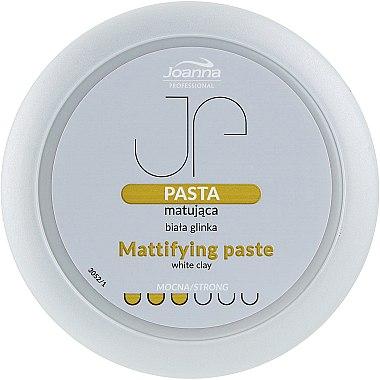 Mattierende Haarpaste mit weißem Ton - Joanna Professiona Mattifying Paste