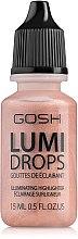 Düfte, Parfümerie und Kosmetik Flüssiger Highlighter - Gosh Lumi Drops Highlighter