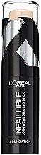 Düfte, Parfümerie und Kosmetik Langanhaltender Konturstick - L'Oreal Paris Infaillible Longwear Shaping Stick