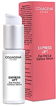 Düfte, Parfümerie und Kosmetik Lippen- und Augenkonturserum mit Lifting-Effekt - Collagena Code Express Lift Eye And Lip