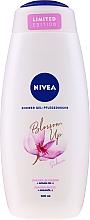 Düfte, Parfümerie und Kosmetik Pflegedusche mit Sakura Blüte und und Arganöl - Nivea Blossom Up Argan Oil & Sakura Nourishing Shower Gel Limited Edition