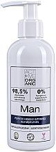 Düfte, Parfümerie und Kosmetik Hypoallergene Flüssigkeit für die Intimhygiene für Männer - Active Organic Man