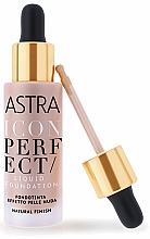 Düfte, Parfümerie und Kosmetik Flüssige Foundation - Astra Make-Up Icon Perfect Liquid Foundation