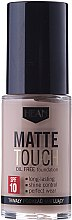 Düfte, Parfümerie und Kosmetik Mattierende und langanhaltende Foundation LSF 10 - Hean Matte Touch Oil Free SPF10