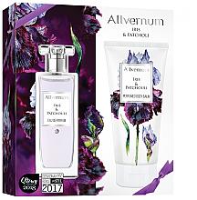 Düfte, Parfümerie und Kosmetik Allverne Iris & Patchouli - Kosmetikset (Eau de Parfum/50ml + Körperlbalsam/200ml)