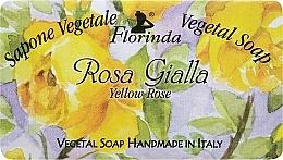 Düfte, Parfümerie und Kosmetik Naturseife Yellow Rose - Florinda Sapone Vegetal Soap Yellow Rose