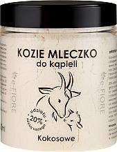 Düfte, Parfümerie und Kosmetik Natürliches Ziegenmilchbad mit Kokosnuss - E-Fiore Coconut Bath Milk