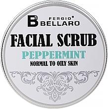 Düfte, Parfümerie und Kosmetik Gesichtspeeling für normale bis fettige Haut mit Minze - Fergio Bellaro Exfoliante Facial
