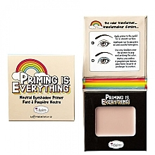 Düfte, Parfümerie und Kosmetik Lidschattengrundierung - TheBalm Priming Is Everything