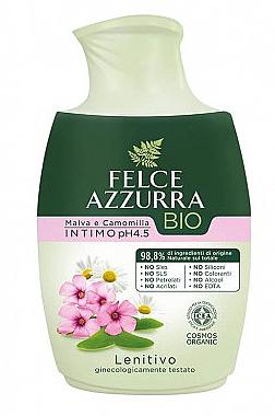 Flüssigseife für die Intimhygiene mit Kamille und Malve - Felce Azzurra BIO Chamomile&Mallow Intimate