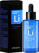 Düfte, Parfümerie und Kosmetik Beruhigendes Gesichtsöl - It's Skin Power 10 Formula Soothing LI Ampoule Face Oil
