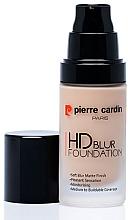 Düfte, Parfümerie und Kosmetik Mattierende Foundation - Pierre Cardin HD Blur Foundation