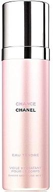 Chanel Chance Eau Tendre - Feuchtigkeitsspendender parfümierter Körpernebel