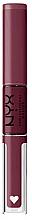 Düfte, Parfümerie und Kosmetik 2in1 Lippenstift und Lipgloss - NYX Professional Makeup Shine Loud Lip Color