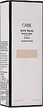 Düfte, Parfümerie und Kosmetik Stylinglotion für das Haar Mittlerer Halt - Oribe Matte Waves Texture Lotion