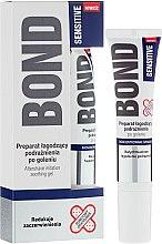 Düfte, Parfümerie und Kosmetik Beruhigendes After Shave Gel für empfindliche Haut - Bond Sensitive Aftershave Irritation Soothing Gel