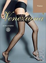 Düfte, Parfümerie und Kosmetik Lange Damenstrümpfe mit Spitzenband Ar Beautiful 20 Den visone - Veneziana