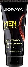 Düfte, Parfümerie und Kosmetik Gesichtsreinigungsgel - Soraya Men Energy