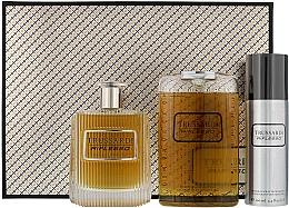 Düfte, Parfümerie und Kosmetik Trussardi Riflesso Man Set - Duftset (Eau de Toilette 100ml + 2in1 Shampoo und Duschgel 200ml + Deospray 100ml)