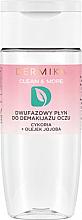 Düfte, Parfümerie und Kosmetik 2-Phasen klärender Augen-Make-up Entferner mit Chicorée und Jojobaöl - Dermika Clean & More
