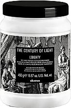 Düfte, Parfümerie und Kosmetik Schützender Bleichpuder für Freihandtechniken mit Kaolin - Davines The Century of Light Liberty Free Hand Premium Hair Bleaching Powder