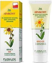 Düfte, Parfümerie und Kosmetik Beruhigendes Körper- und Gesichtsgel mit Arnika für empfindliche Haut - Floslek Gel Arnica