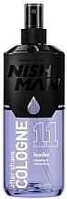 Düfte, Parfümerie und Kosmetik After Shave Cologne mit würzig-blumigem, süßem Duft - Nishman Leader Cologne No.11