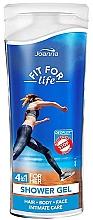 Düfte, Parfümerie und Kosmetik 4in1 Duschgel - Joanna Fit For Life Shower Gel (Mini)