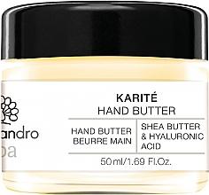 Düfte, Parfümerie und Kosmetik Handbutter mit Sheabutter und Hyaluronsäure - Alessandro International Spa Hand Butter